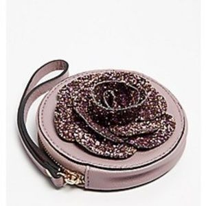 Sequin Rose Coin Purse(NWOT)